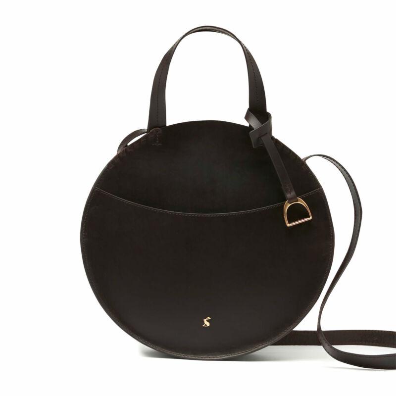 Joules Foxton Mini Round Womens Bag Saddle - Chocolate One Size
