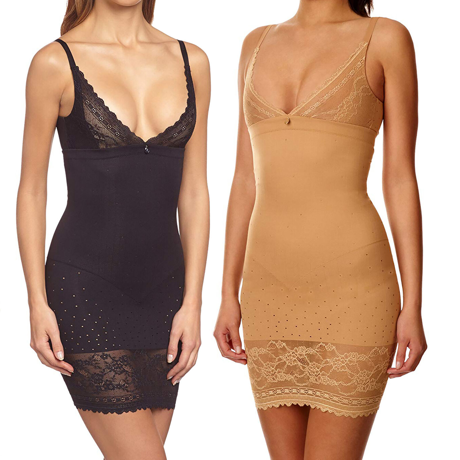 Triumph Lace Sensation Bodydress Damen Body Shaping Kleid Miederkleid NEU