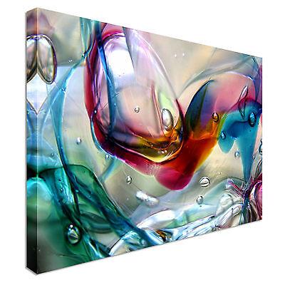Cheap Clown (Clown Coloured Bubbles Canvas Art Cheap Wall Print Home)