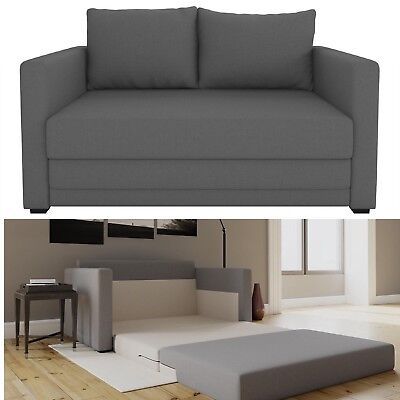 Futon Sofa Couch Bed Sleeper Loveseat Lounge Upholstered Living Room Furniture