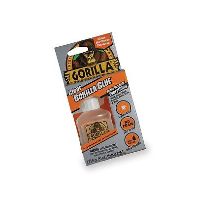 Gorilla Clear Glue, 1.75 ounce Bottle, Clear (Pack of 1) 1 - Pack