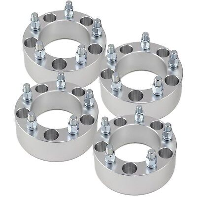 Fits Ram - (4) 50mm Wheel Spacers Adapters 5x5.5 fits dodge RAM-1500 RAMCHARGER 2