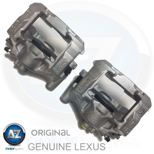 For Lexus is200d is220d is250 is300h Rear brake calipers + sliders carriers sld