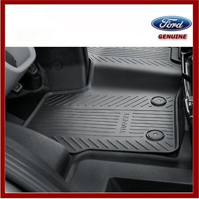 Genuine Ford Transit Custom 2012 Onwards Front Rubber Floor Mats New 2047030