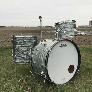 1963 Ludwig Drums 24, 13, 16