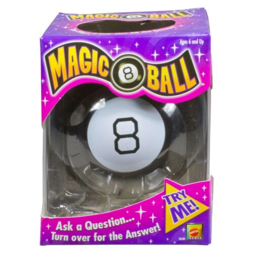 Magic 8 Ball Toy Vintage Game Fortune Teller Kids Lucky Answers Mattel 30188