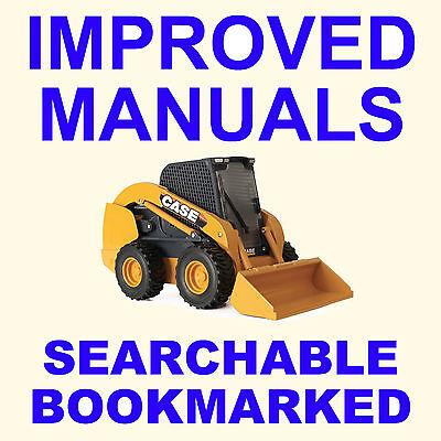 Case Sv185 Sv250 Sv300 Alpha Series Skid Steer Loader Service Repair Manual Cd