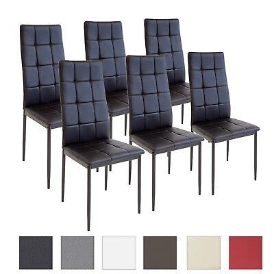 Esszimmerstühle RIMINI - Sets wählbar - Esszimmerstuhl Küchenstuhl Stuhl Stühle (Esszimmer Stuhl, Moderne)