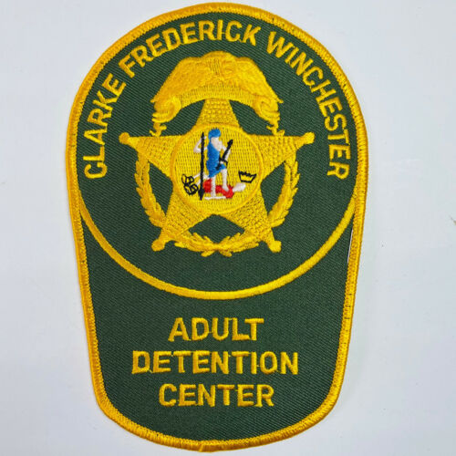 Clarke Frederick Winchester Adult Detention Center Jail Virginia VA Patch (B3)