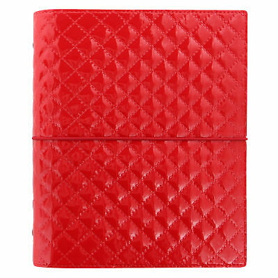 Filofax - A5 Domino Luxe Red Diary Organiser