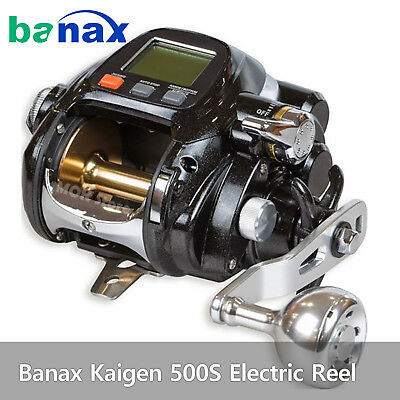 Banax Kaigen 500S Electric Reel Saltwater Big Game Fishing Reels 66lb Drag