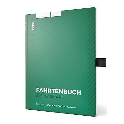 Type 7 Premium-Fahrtenbuch, Hardcover DIN A5, 112 Seiten, für Finanzamt geeignet