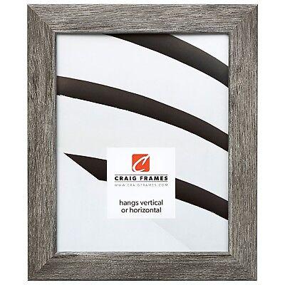 Craig Frames Gray Barnwood Picture Frames & Poster Frames, 1