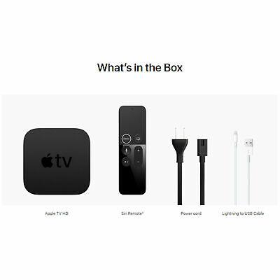 Apple TV 4th Gen 32GB HD Media Streamer WiFi - With Remote MGY52B/A RRP 99