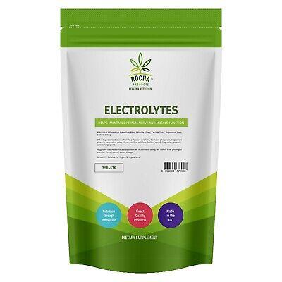 Electrolyte - Salt Replacement Hydration 120 Tablets - Vegan Energy Pills UK
