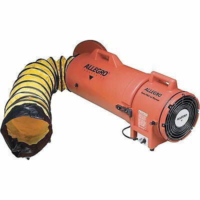 Allegro 9533-15 COM-PAX-IAL Confined Space Ventilation Blower W/ 15′ Ducting Air Handlers