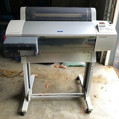Epson Stylus Pro 7600 Professional 24 Wide Format Printer With Rolling Stand
