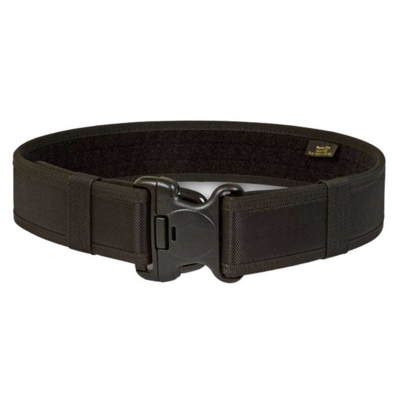 """Perfect Fit Nylon Duty Web Belt 2 1/4"""" Tactical Police Gear Lrg 40""""-44"""" USA Made"""