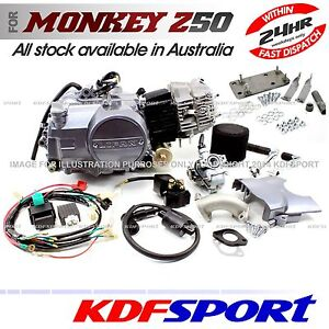KDF LIFAN 110cc ENGINE WITH BRACKET FOR UPGRADE HONDA CT90 CT70 CT110 BIKE