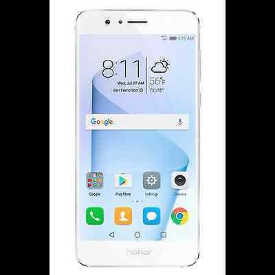 HUAWEI Honor 8 64GB Unlocked GSM LTE QuadCore 12MP Dual Lens Phone-White-New