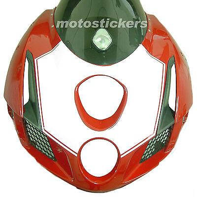 Ducati 999 - Mesa Adhesivo Delantero 1 Color - Racing Calcomanías