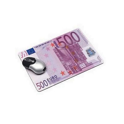 Mousepad 500 Euro Schein Mauspad ausgefallene Geschenke für Männer Geschenkidee