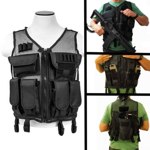 Trinity mesh vest with mag pouch for tippmann tmc accessories paintball woodsbal
