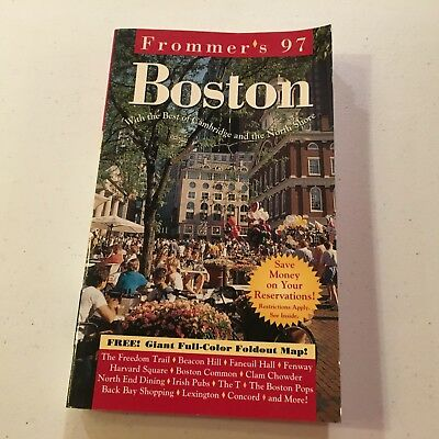 Frommer's 1997 Boston with the Best of Cambridge and the North (Best Of North Shore)