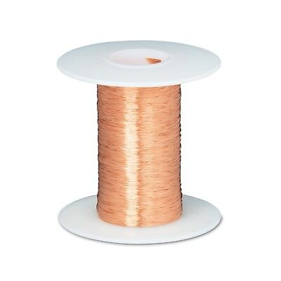 43 Awg Gauge Enameled Copper Magnet Wire 2 Oz 8262 Length 0.0024 155c Natural