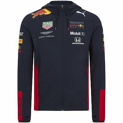 Red Bull Racing F1 2020 Men's Team Hooded Sweat Jacket Navy