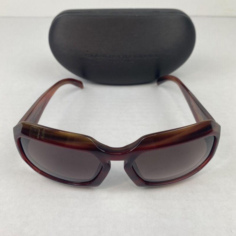 Carolina Herrera New York H701 Red Horn Sunglasses