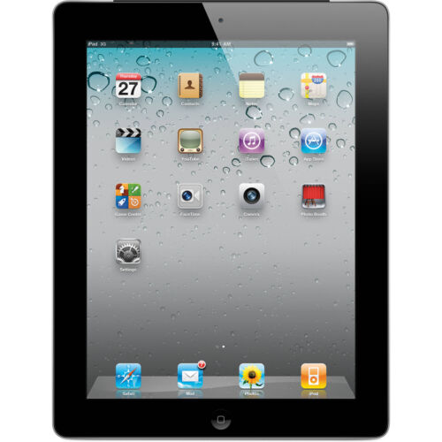 "Apple iPad 2nd Gen 9.7"" Multi-Touch Display Tablet (Black/White)(16GB,32GB,64GB)"