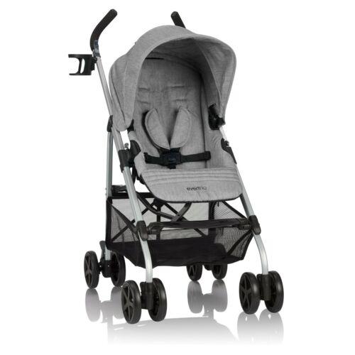 Urbini Reversi Lightweight Stroller, Solid Print Heather Gray
