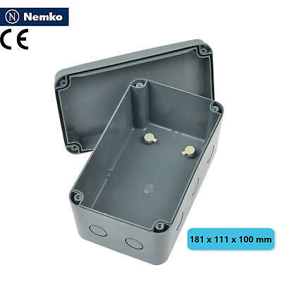 Waterproof Electrical Junction Box Enclosure Protective Case 181 X 111 X 100mm