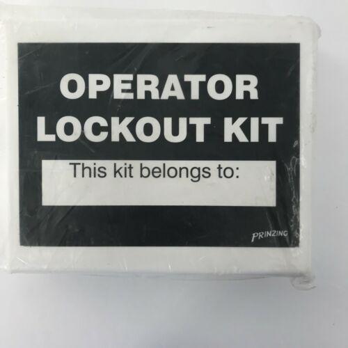 Prinzing Enterprises Operator Lockout Tag-Out Kit (1 Kit) Part #LK432E NEW