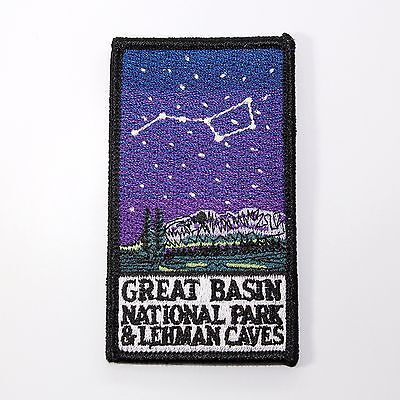 Official Great Basin National Park & Lehman Caves Souvenir Patch - Nevada