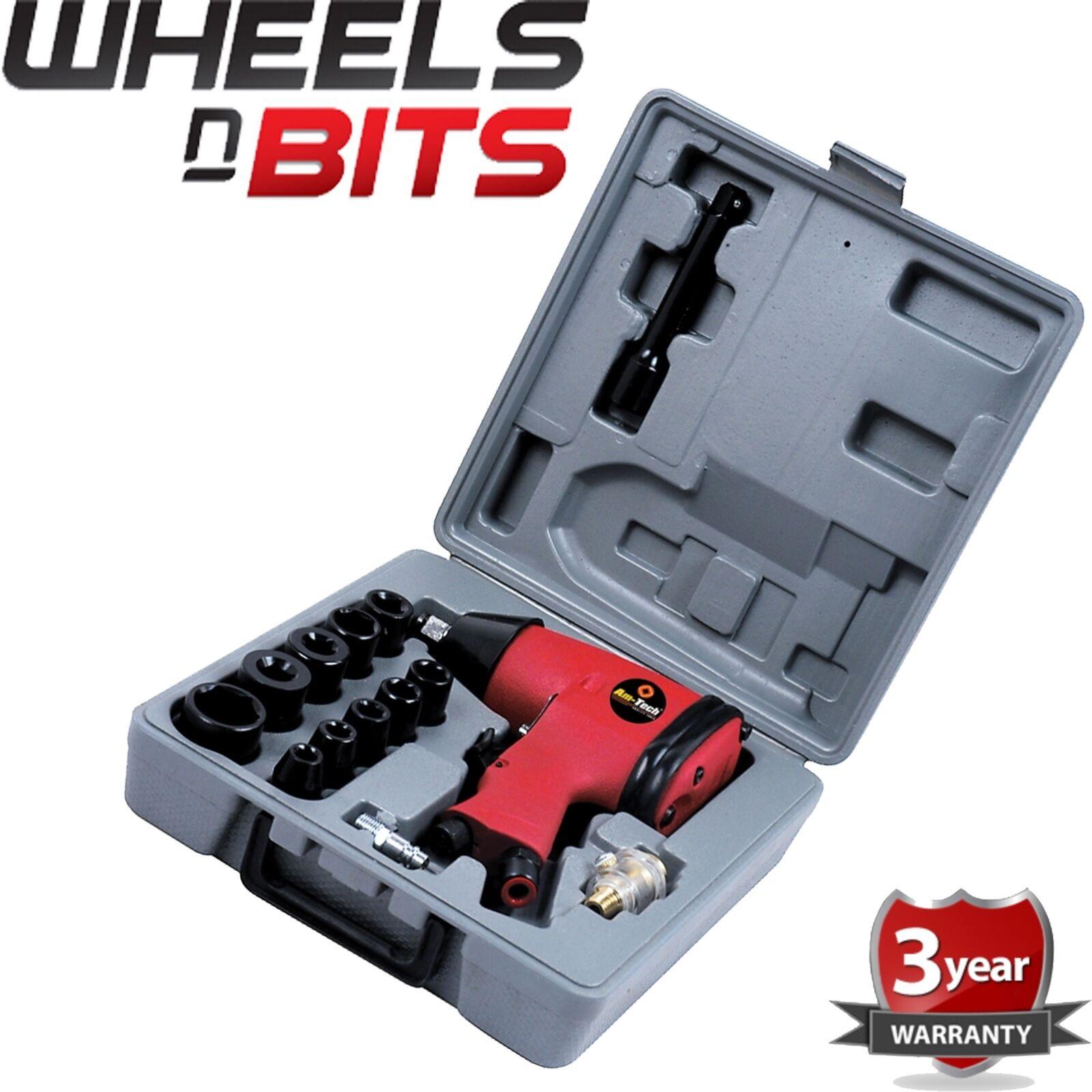 "NEW 17PC 1/2"" Drive Air Impact Wrench Tool Socket Set Compressor Garage Bodyshop"