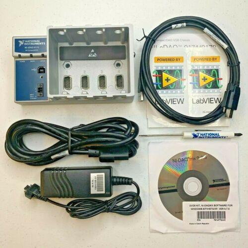 NI cDAQ 9174 National Instruments Chassis - 4-Slot USB CompactDAQ w/ Accessories