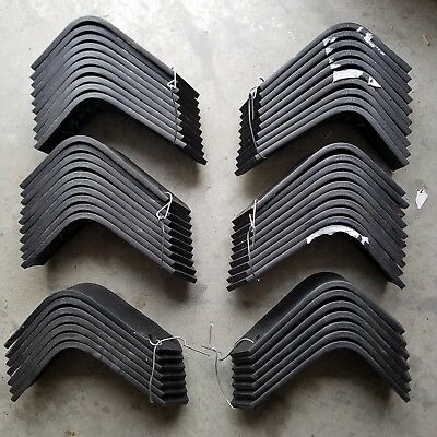 Replacement Tines for Bush Hog RTH-RTX Tillers 27 each 130079L, RH & 130080L, LH