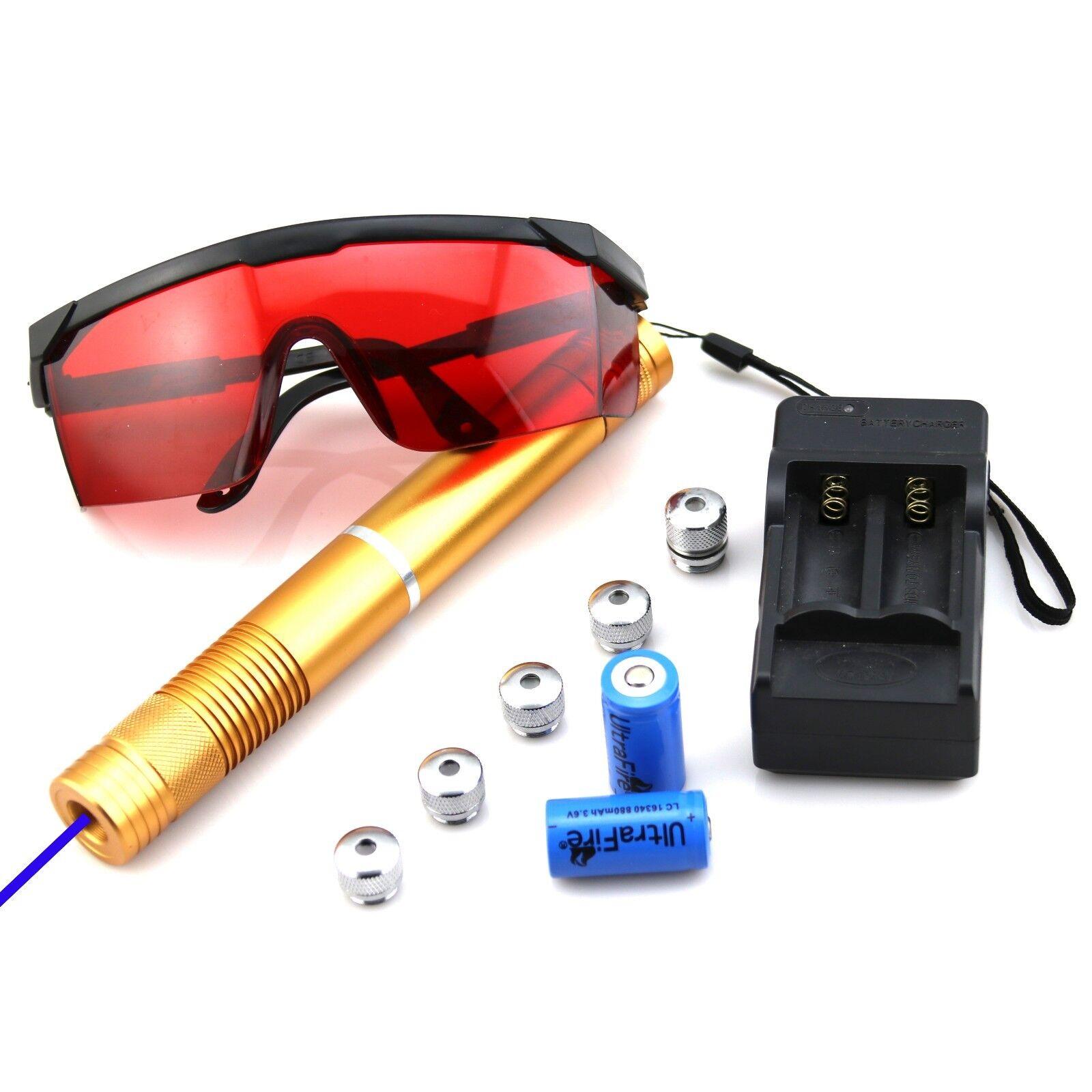 GBH4-F5  450nm Blue Laser Pointer Burn Matches Light Cigaret