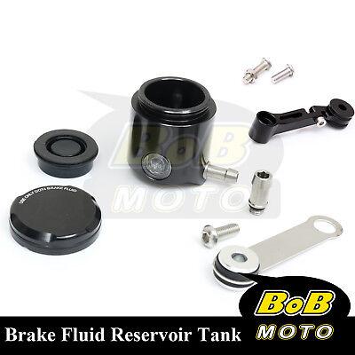 For Kawasaki Z750 07 08 09 10-13 Black CNC Front Brake Cylinder Fluid Oil Tank for sale  South El Monte