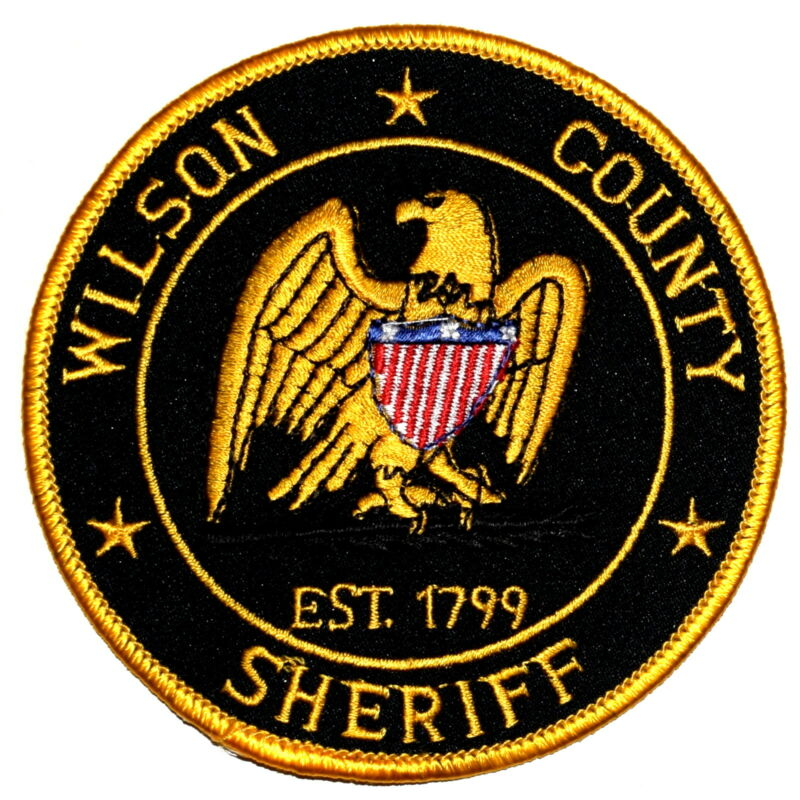 WILSON COUNTY TENNESSEE TN Sheriff Police Patch SHIELD EAGLE ~