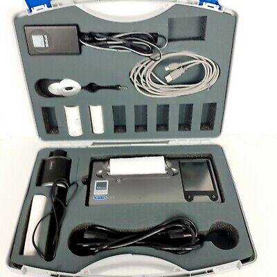 Carefusion Ml3500 Mk8 Microlab Spirometer Nice With Case Tested Sold As Is