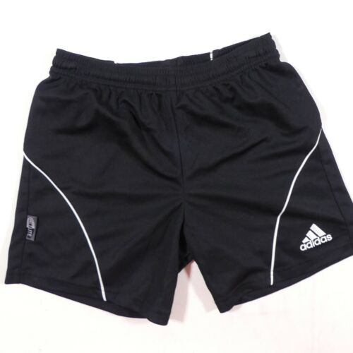 NEW Adidas Climalite Athletic Shorts Extra Youth Small Black Soccer Athletic Gym