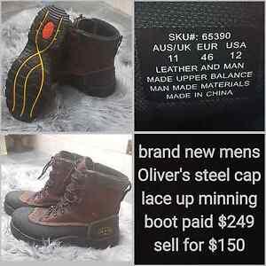 Mens new steel cap boots Dubbo Dubbo Area Preview