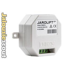 JAROLIFT®™ 1-Kanal Funk-Lichtschalter Unterputz Typ TDRRUP-L Funkempfänger Licht