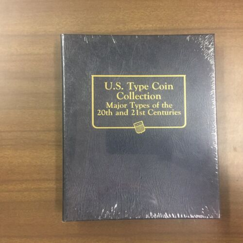 Whitman Classic Coin Album # 3688 For 20th & 21st Century United States Type Set