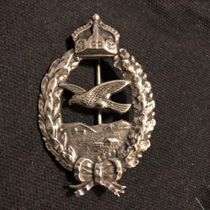 World War 1 German Pilot Badge Red Baron