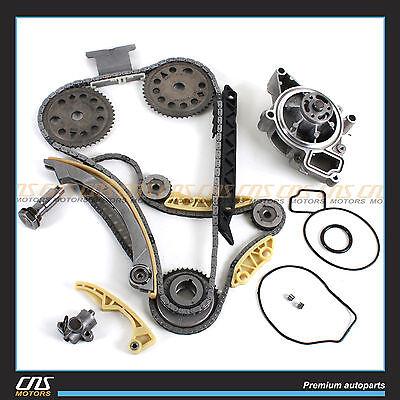 Timing Chain Balance Shaft Water Pump Kit for GM Saturn Chevrolet 2.0L 2.2L 2.4L
