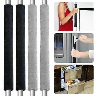 2-Pack Refrigerator Door Handle Cover Kitchen Appliance Protector Smudges Decor Home & Garden